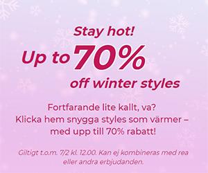 95dc388f2088 Stay hot! Up to 70% off winter styles. Fortfarande lite kallt, va? Hos Nelly  kan ...